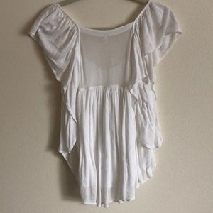 Free People Tops - Free People Forever & Always Top in White